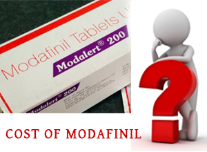 cost of generic and non-generic modafinil