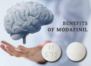 Add on benefits of modafinil